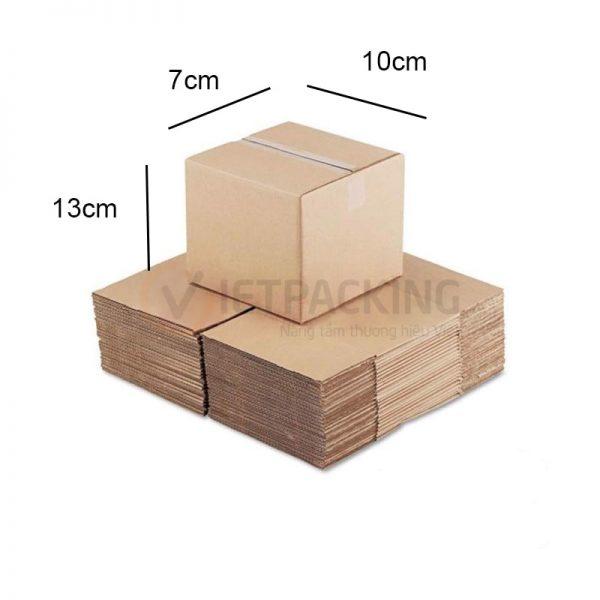 Hộp carton 10x7x7cm 1
