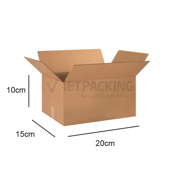 Hộp carton 20x15x10cm 1