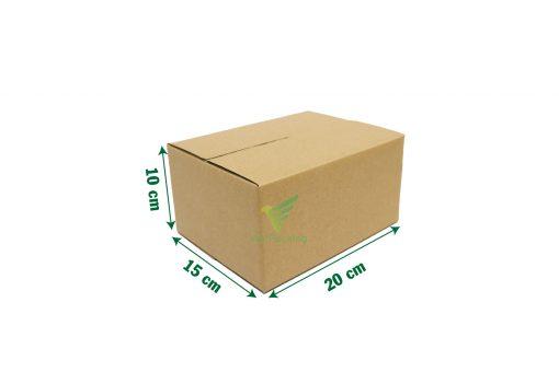 hop carton dong hang 20 15 10 01 Hộp carton 20x15x10cm