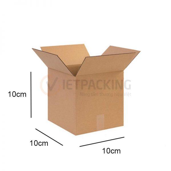 Hộp carton 10x10x10cm 1