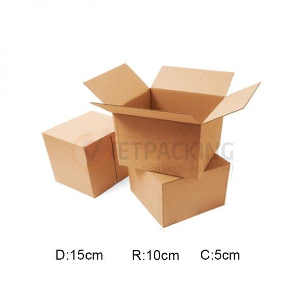 Hộp carton 15x10x5cm 1