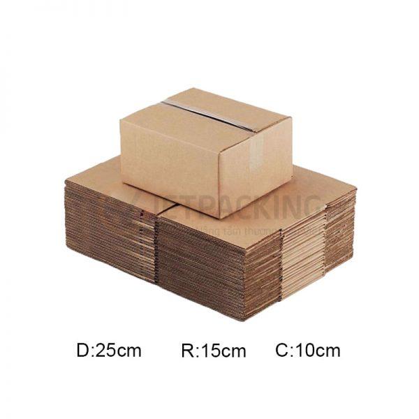 Hộp carton 25x15x10cm 1