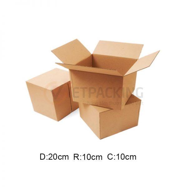 Hộp carton 20x10x10cm 1