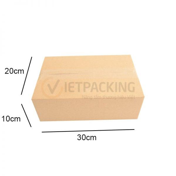 Hộp carton 30x20x10cm 1