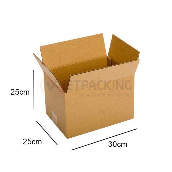 Hộp carton 30x25x25cm 1