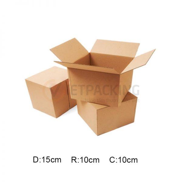 Hộp carton 15x10x10cm 1