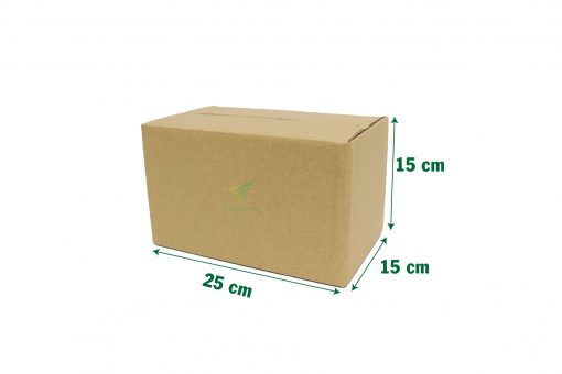 hop carton dong hang 25 15 15 01 Hộp carton 25x15x15cm