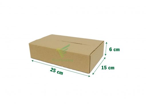 hop carton dong hang 25 15 6 05 1 scaled Hộp carton 25x15x6cm