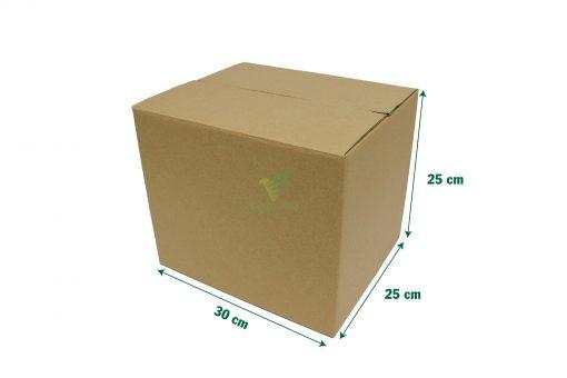 hop carton dong hang 30 25 25 04 scaled Hộp carton 30x25x25cm