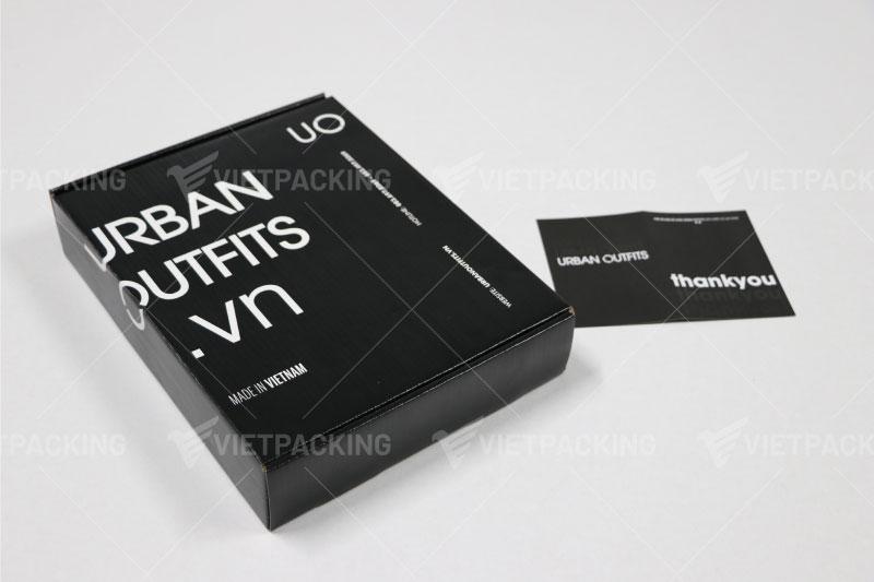 hộp carton giấy nắp gài đựng quần áo