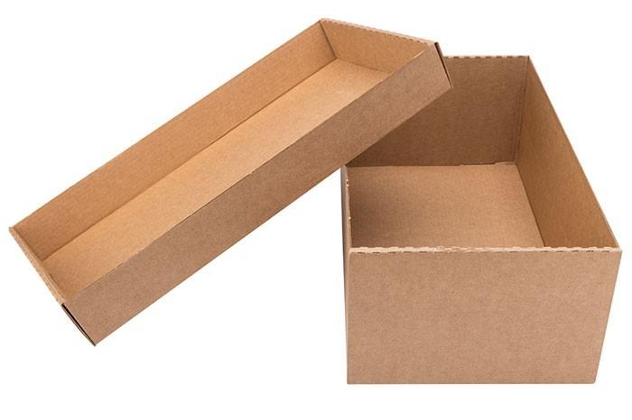 hộp carton nắp rời