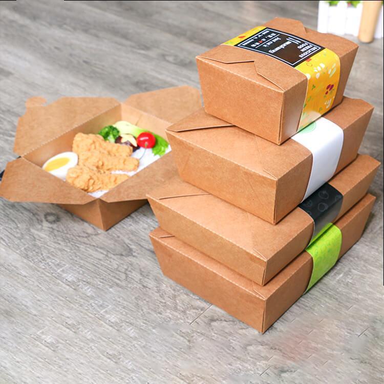 Hộp giấy kraft đựng thức ăn - nhẹ, tiện lợi, dễ dùng, tại sao không? 3