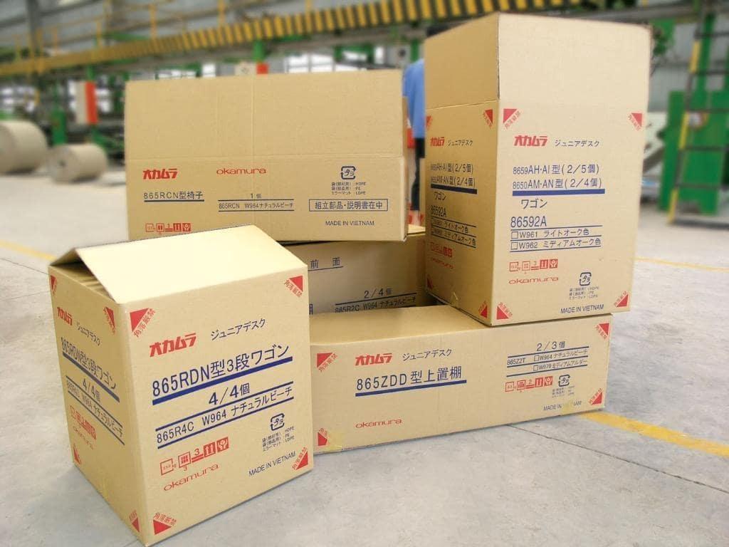 In thùng carton TpHCM giá rẻ, sản xuất thùng carton số lượng lớn 1