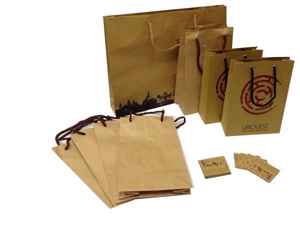 Địa chỉ sản xuất túi giấy kraft có quai - sản phẩm cho sự thân thiện 1