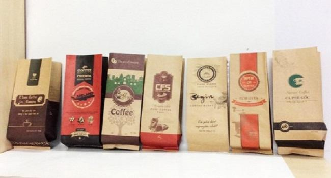 Sản xuất bao bì cafe uy tín