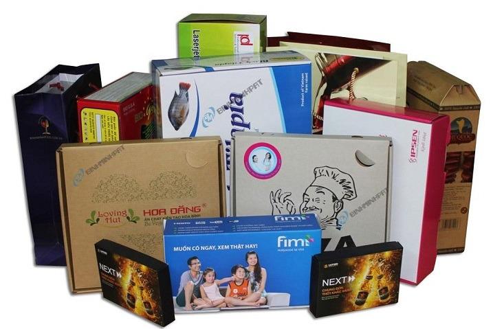 Dịch vụ gia công bao bì hộp giấy chất lượng tại TpHCM 3