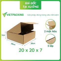 20x20x7 hop carton nap gai 1