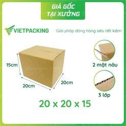 20x20x15 hop carton vietpacking