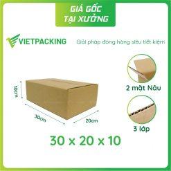 30x20x10 hop carton vietpacking