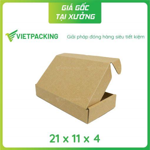 21x11x4 3 nap gai Hộp carton 21x11x4cm
