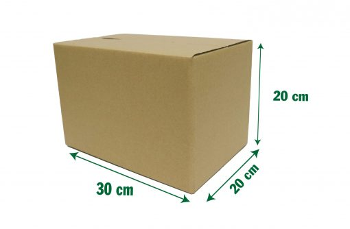 30x20x20 10 scaled Hộp carton 30x20x20cm