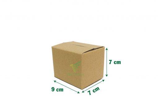9x7x7 05 Hộp carton 9x7x7cm