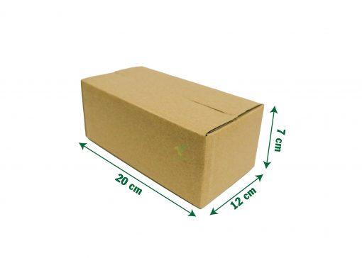 hop carton dong hang 20 12 7 05 Hộp carton 20x12x7cm