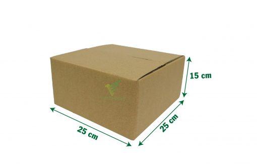hop carton dong hang 25 25 15 05 scaled Hộp carton 25x25x15cm