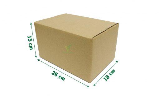 hop carton dong hang 26 18 15 05 05 scaled Hộp carton 26x18x15cm