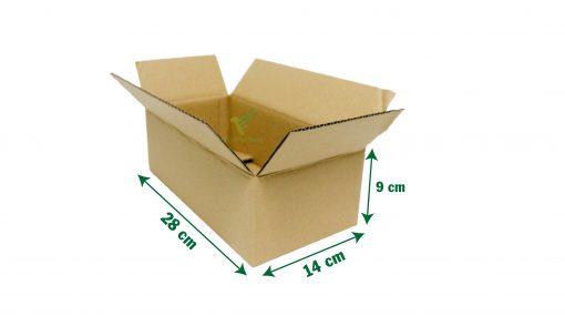 hop carton dong hang 28 14 9 04 Hộp carton 28x14x9cm