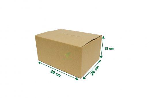 hop carton dong hang 30 20 15 04 scaled Hộp carton 30x20x15cm