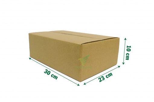 hop carton dong hang 30 23 10 15 Hộp carton 30x23x10cm