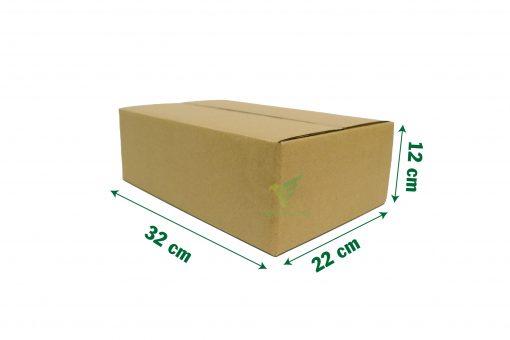 hop carton dong hang 30x20x10 05 Hộp carton 33x22x12cm