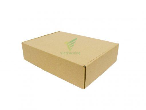 hop carton nap gai 30 21 7 10 Hộp carton 30x21x7cm