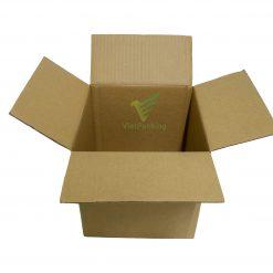 hop carton vuong 22 22 22 11 Hộp carton 22x22x22cm