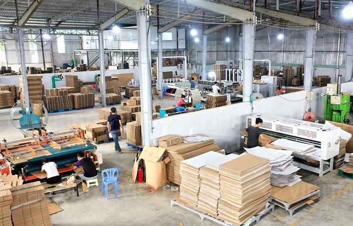 sản xuất in ấn bao bao bì giấy vietpacking