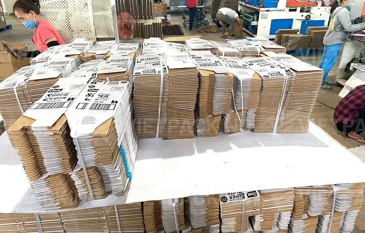 in an thung carton theo yeu cau Nhà máy sản xuất bao bì giấy