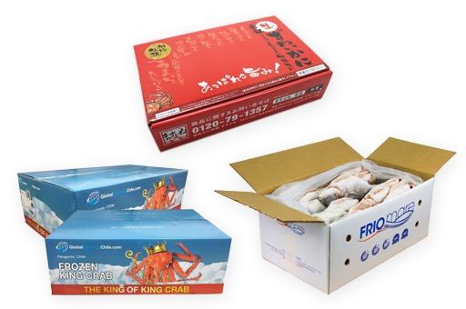 Sản xuất bao bì giấy thùng carton thủy sản