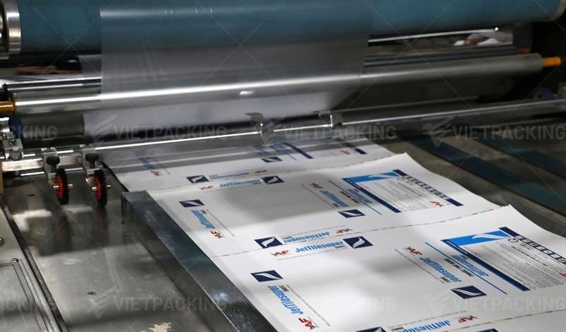 hộp giấy offset cán màng bóng
