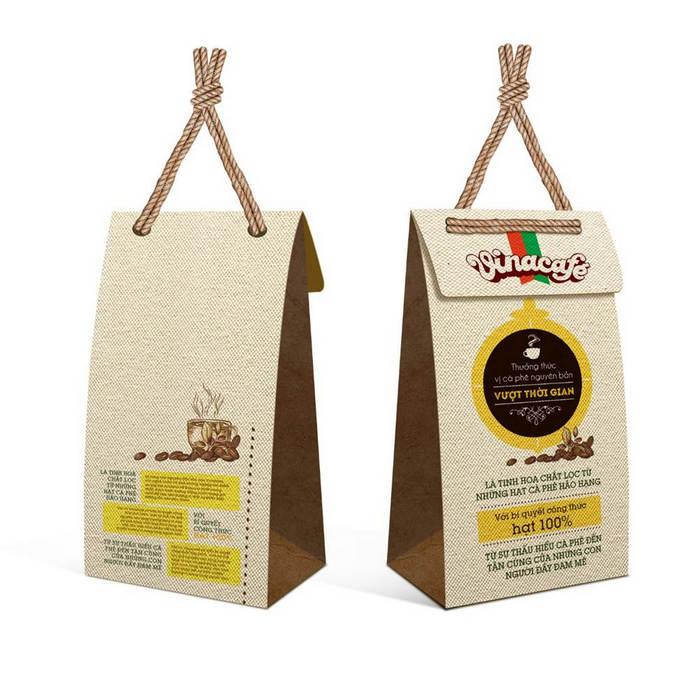 Bao bì giấy đựng cà phê