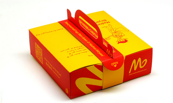 bao bì giấy đựng thức ăn nhanh