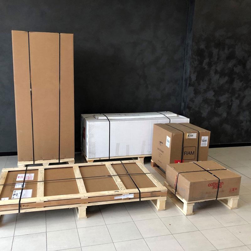thùng carton đựng đồ nội thất bàn ghế