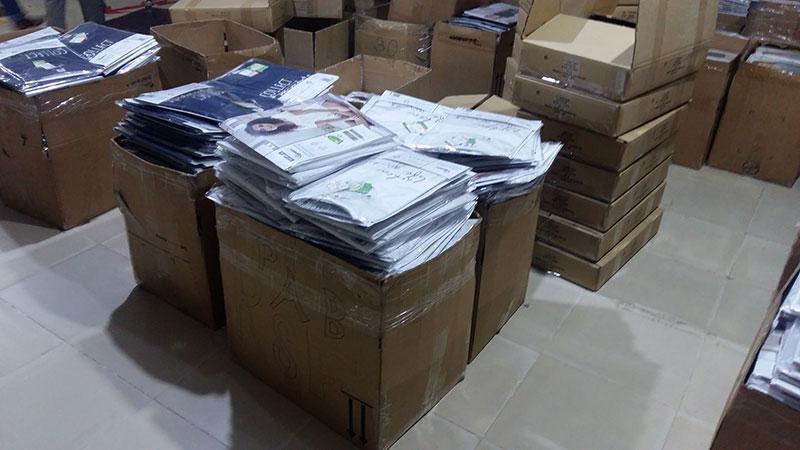 thùng giấy carton đựng ngành may mặc