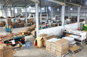 Xưởng sản xuất thùng carton Vietpacking